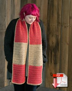 Lovelight Scarf Crochet Pattern Download