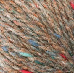 Medium 75% Wool, 25% Mohair Yarn:  color 0110