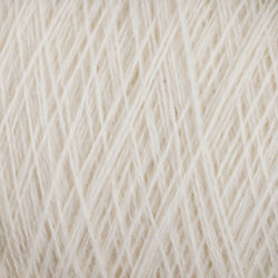 Fine 100% Wool Yarn:  color 0100