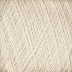 JaggerSpun Zephyr Wool-Silk 2/18 Yarn color 0110 (WHITE)