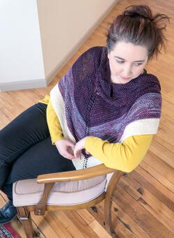 Space Oddity Shawl Pattern