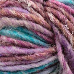 Bulky 51% wool, 14% silk, 7% cashmere, 7% angora, 7% camel, 7% alpaca, 7% mohair Yarn:  color 0070