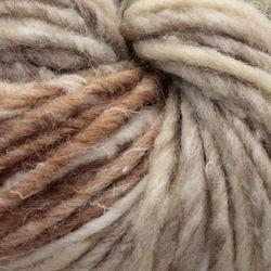 Bulky 51% wool, 14% silk, 7% cashmere, 7% angora, 7% camel, 7% alpaca, 7% mohair Yarn:  color 0190