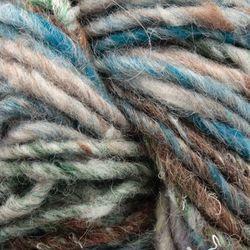Bulky 51% wool, 14% silk, 7% cashmere, 7% angora, 7% camel, 7% alpaca, 7% mohair Yarn:  color 0220