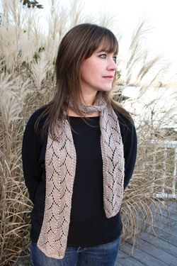 Shell Lace Scarf