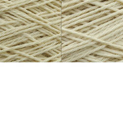 White Worsted Wool Warps