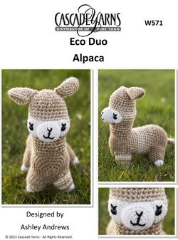 Cascade Eco Duo Alpaca - Crochet Pattern
