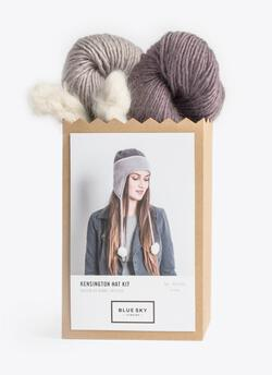 Blue Sky Fibers Kensington Hat Kit