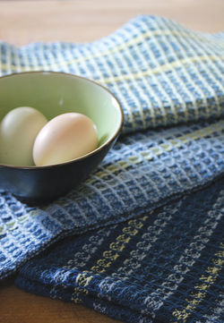 Weaving patterns Waffle Weave Dish Towel Pattern - 8/2 Cotton