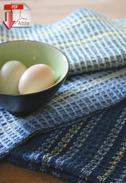 Waffle Weave Dish Towel Pattern  82 Cotton  Pattern download