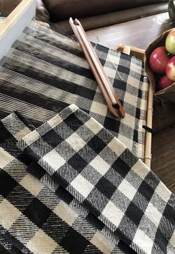 Buffalo Plaid Woven Dish Towel for Rigid Heddle or 4Shaft  Printed Pattern