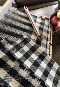 Buffalo Plaid Woven Dish Towel for Rigid Heddle or 4Shaft  Pattern Download