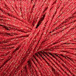 Light 77% Viscose, 15% Nylon, 8% Metallic Yarn:  color 0040