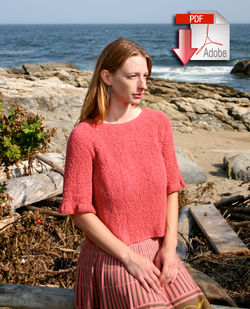 Free Pattern: Updated Romantic Ruffled Scarf | The Piper's