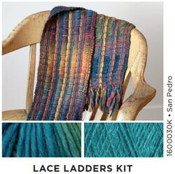 Lace Ladders  Woven Scarf Kit 3 SanPedro