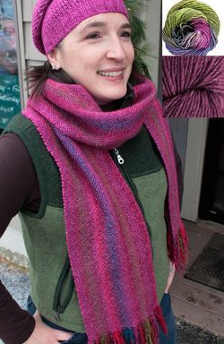 Chill Chaser Woven Scarf Kit - Lavender Field