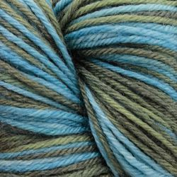 Super Fine 65% Superwash Wool, 20% Nylon, 15% Silk Yarn:  color 0542
