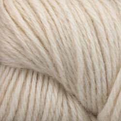 Light 100% alpaca Yarn:  color 0001