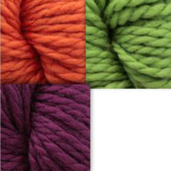 yarn tassel for Superwash 128 by Cascade Bulky Yarn