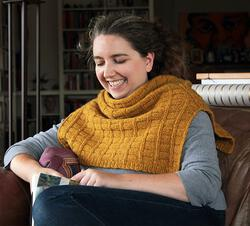 new book or magazine: Fortitude Ponchette - Pattern Download