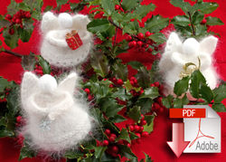 Angora Snow Angels  - Pattern download