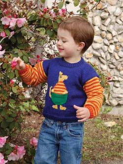 Children's Kangaroo Sweater
