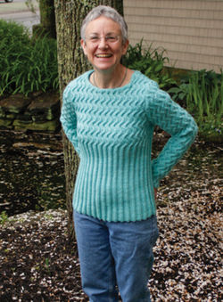 Waves of Ribs Pullover