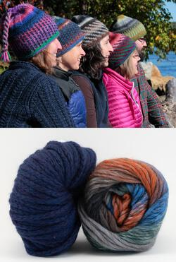 Alpine Topper Hat Kit  multi wblue