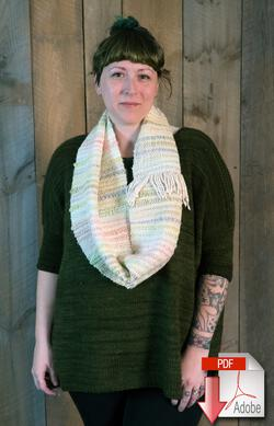 Both Sides Now  Woven Cowl Pattern Download