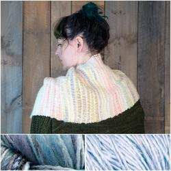 Both Sides Now  Woven Cowl Kit