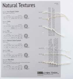 Natural Textures Sample Card