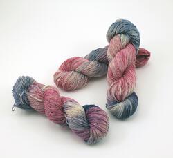 Lace 100% Silk Yarn:  color 0001