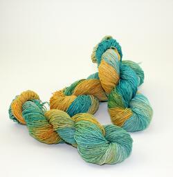 Lace 100% Silk Yarn:  color 0003