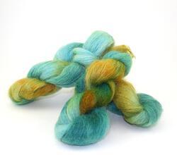 Medium 74% Mohair, 16% Wool, 10% Nylon Yarn:  color 0003