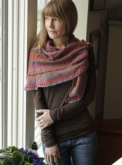 Painted Desert Lace Shawl Pattern