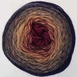 Medium Merino Wool Yarn:  color 0303