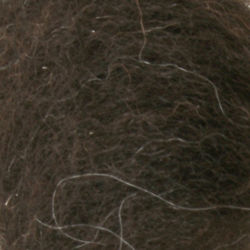 Black Welsh Top Wool Fiber