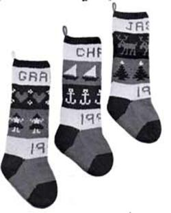 Classic Christmas Stockings  Yankee Knitter