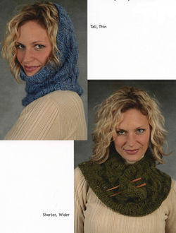 Bulky Cabled Cowl