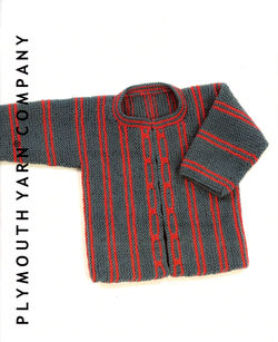 Clearance - Child's Striped Jacket