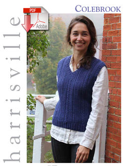 Colebrook Vest - Pattern download