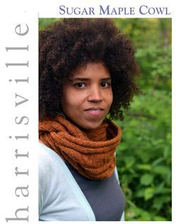 Sugar Maple Cowl Harrisville Designs