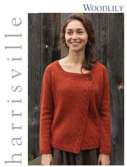 Woodlily Cardigan Harrisville Designs