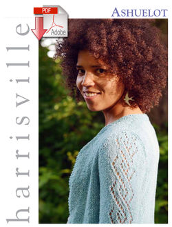 Ashuelot Cardigan  Pattern download Harrisville Designs