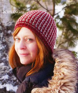Kipling Hat - Flywheel Pattern Harrisville Designs