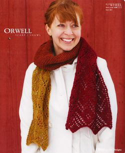 Orwell Scarf/Shawl - Flywheel Pattern Harrisville Designs