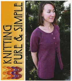 Top Down Lightweight Cardigan by Knitting Pure amp Simple