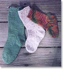 Easy Child Socks by Knitting Pure and Simple