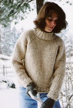 Weekend Neck Down Pullover by Knitting Pure and Simple