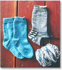 Easy Childrenaposs Lightweight Socks by Knitting Pure amp Simple